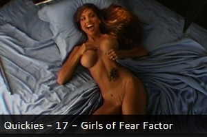 Fear factor girls nude consider, that